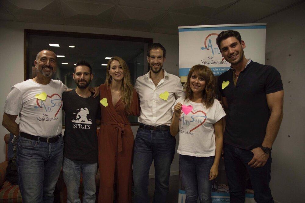 """Programa de radio """"A tu salud con Rosa Quintana"""" en Libertad FM, y MindaliaTv"""